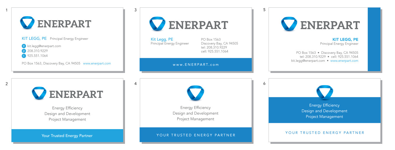 Enerpart Business Cards