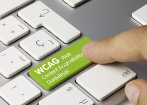 WCAG button on keyboard